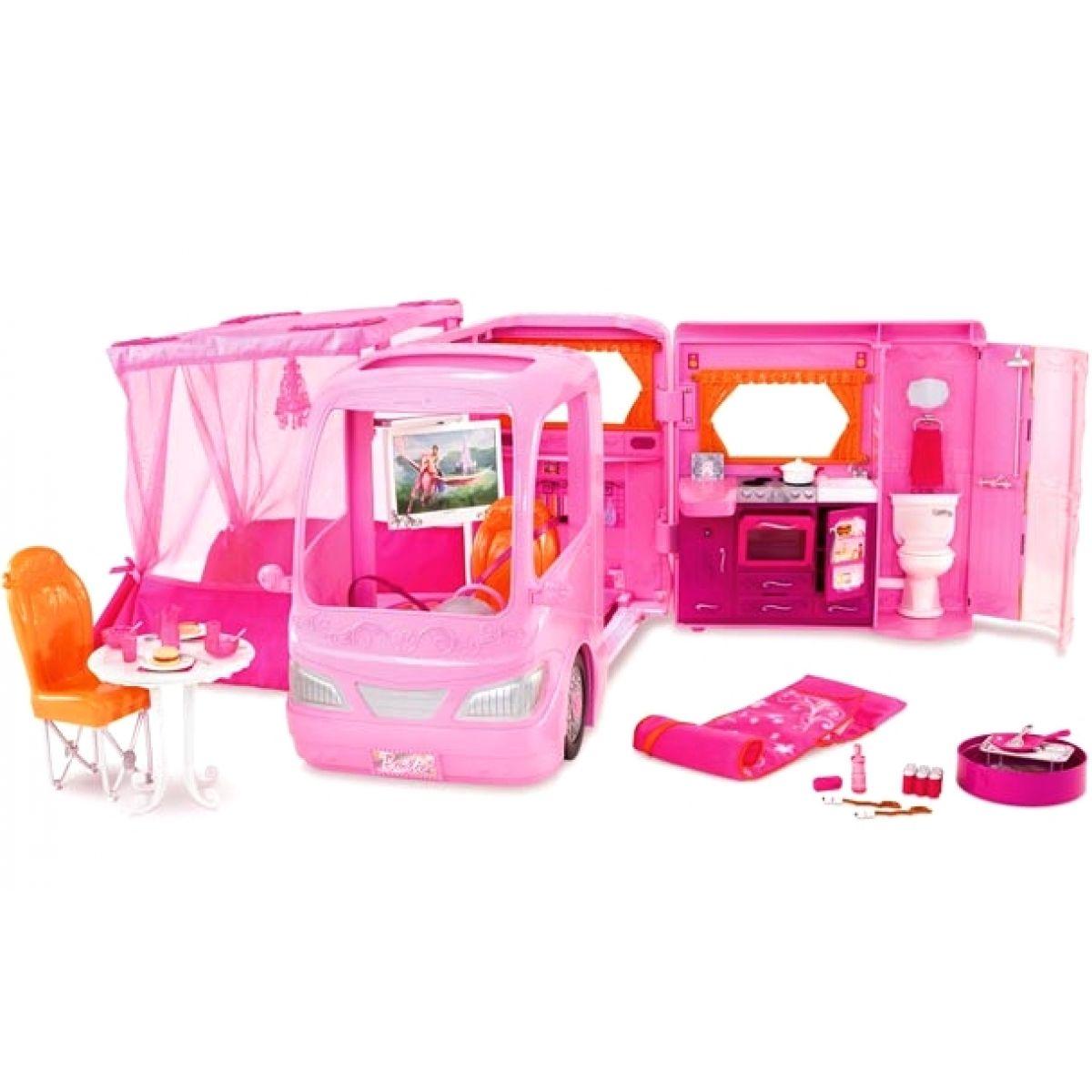 Barbie P3599 - Barbie karavan