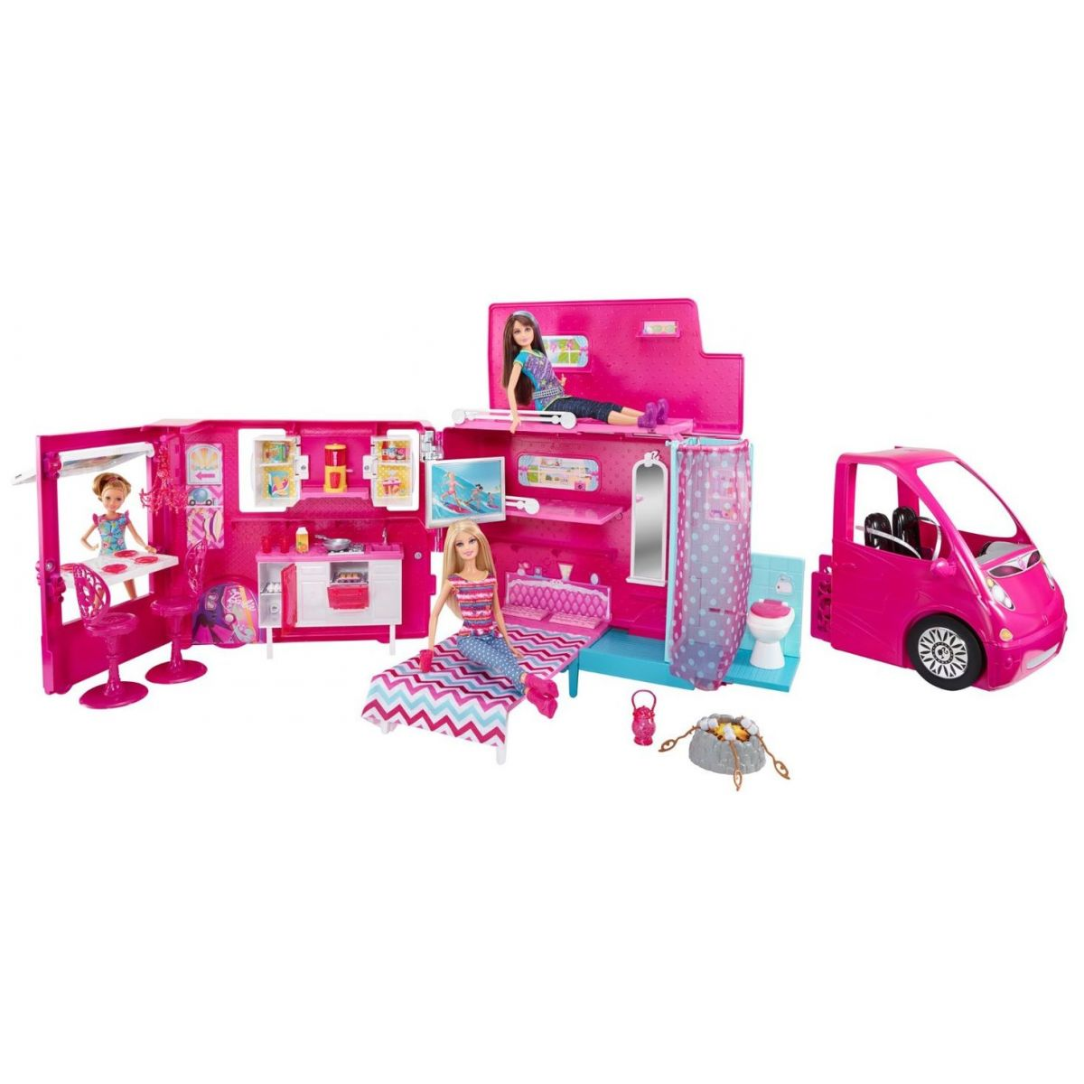 Barbie karavan  (MATTEL BJN62)