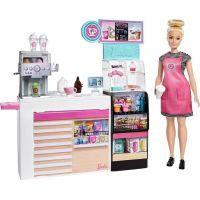 Barbie kavárna s panenkou