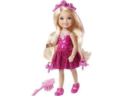 Barbie Malá dlouhovláska - Blond vlasy