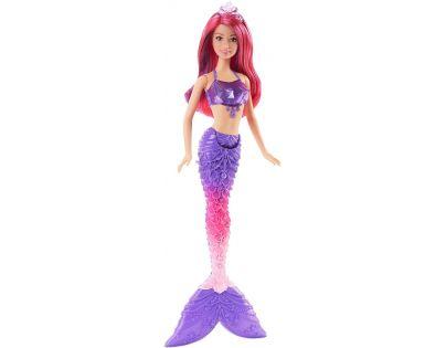 Barbie Mořská panna 34 cm - Fialovo-růžové vlasy
