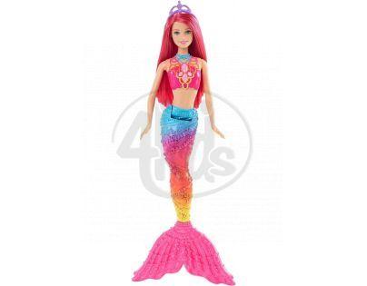 Barbie Mořská panna 34 cm - Růžové vlasy