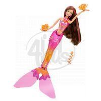 Mattel R4151_T1476 - Barbie Mořská tanečnice (růžová) 2