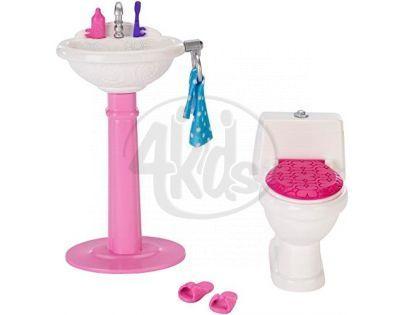 Barbie Nábytek - Toaleta