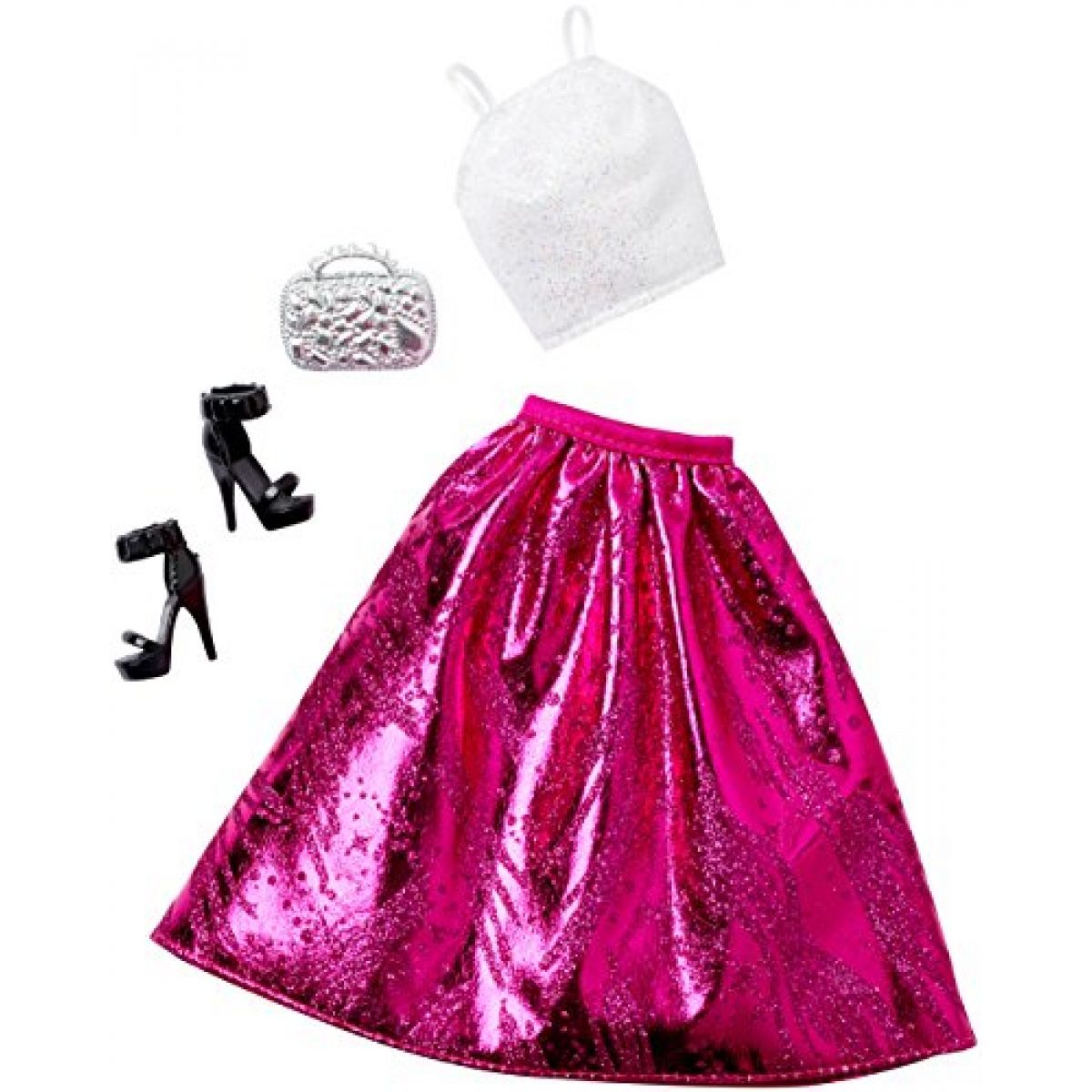 Barbie outfit s doplňky - DHC57