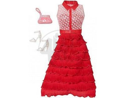 Barbie outfit s doplňky - DHC59