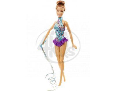Barbie Panenka gymnastka - Fialová
