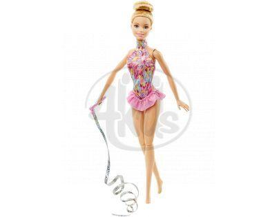 Barbie Panenka gymnastka - Růžová