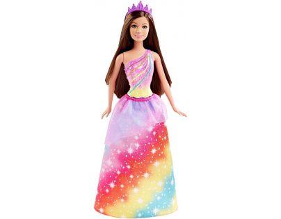 Barbie Panenka princezna - Duhové šaty