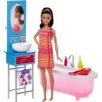 Barbie panenka s nábytkem Koupelna