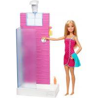 Barbie panenka s nábytkem Sprcha