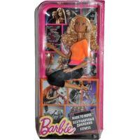 Barbie Panenka v pohybu - Oranžové triko 4