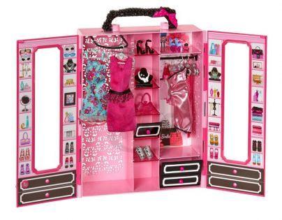 Barbie přenosná módní šatna (MATTEL BMB99)