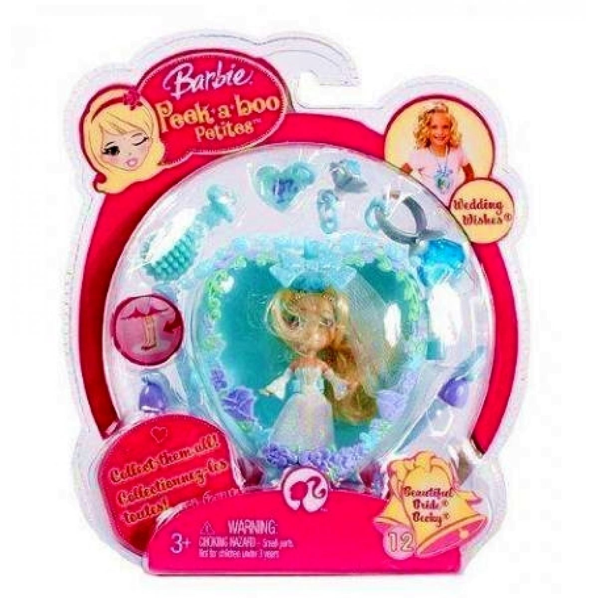 Barbie M8779_N6645 - Barbie Petites Club set č.74