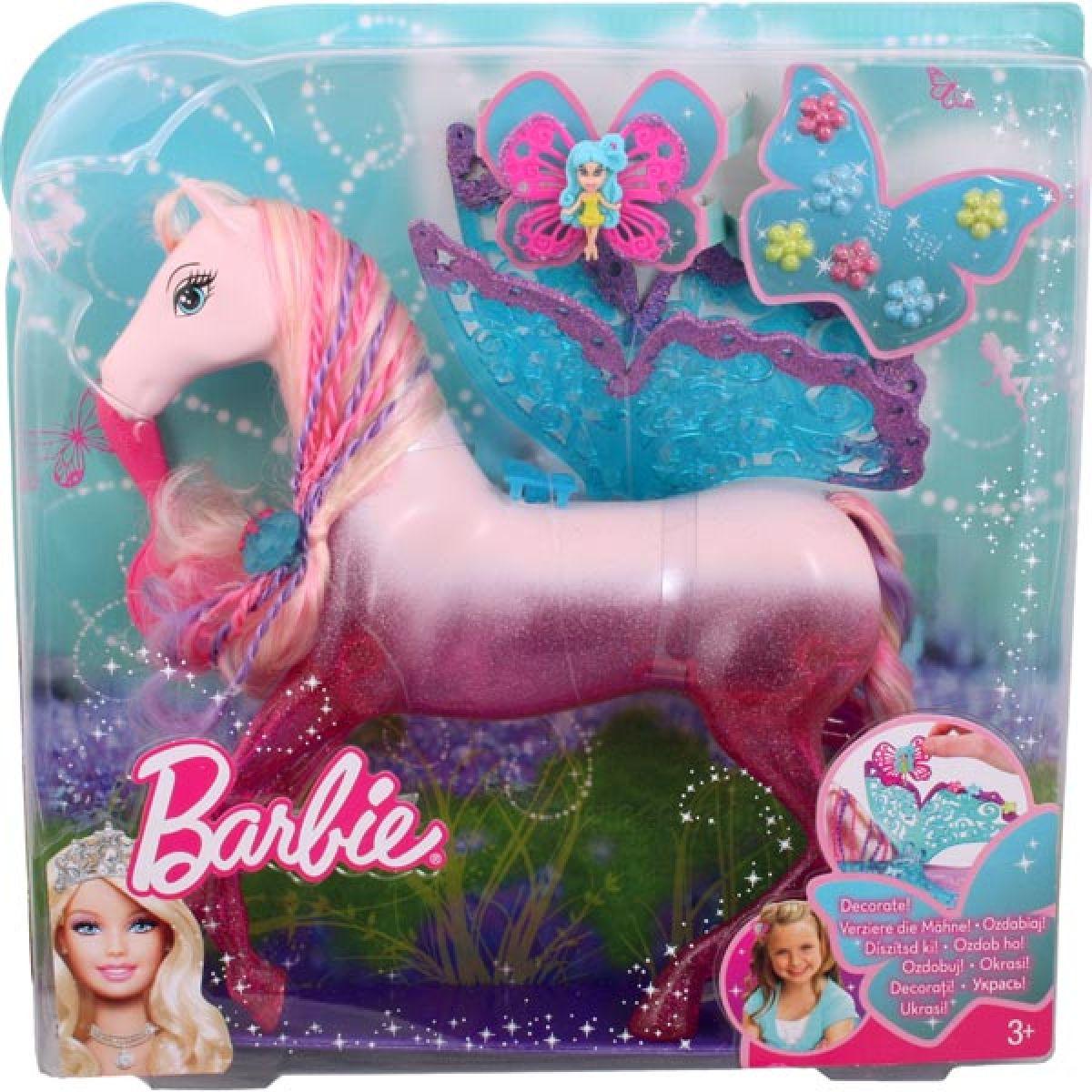 Barbie Pohádkový kůň Mattel T4207