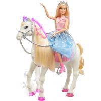 Barbie princezná a kôň so svetlami a zvukmi