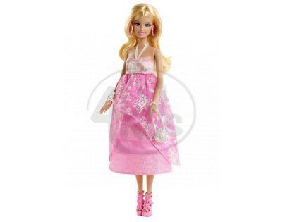 Barbie Růžová párty - květinové šaty