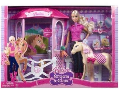 Barbie s koněm a doplňky Mattel N4892