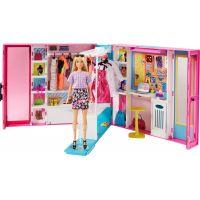 Barbie šatník snov s bábikou
