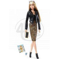 Barbie Sběratelská panenka The Look - Černo-zlaté šaty