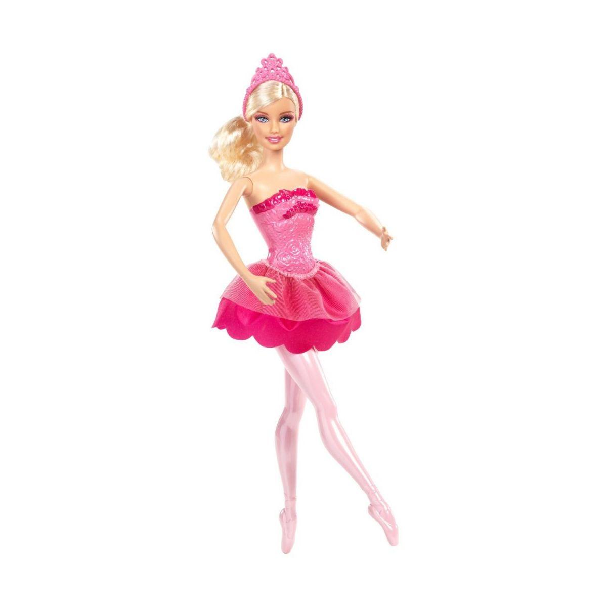 BARBIE X8821 Studentka baletka - Růžová