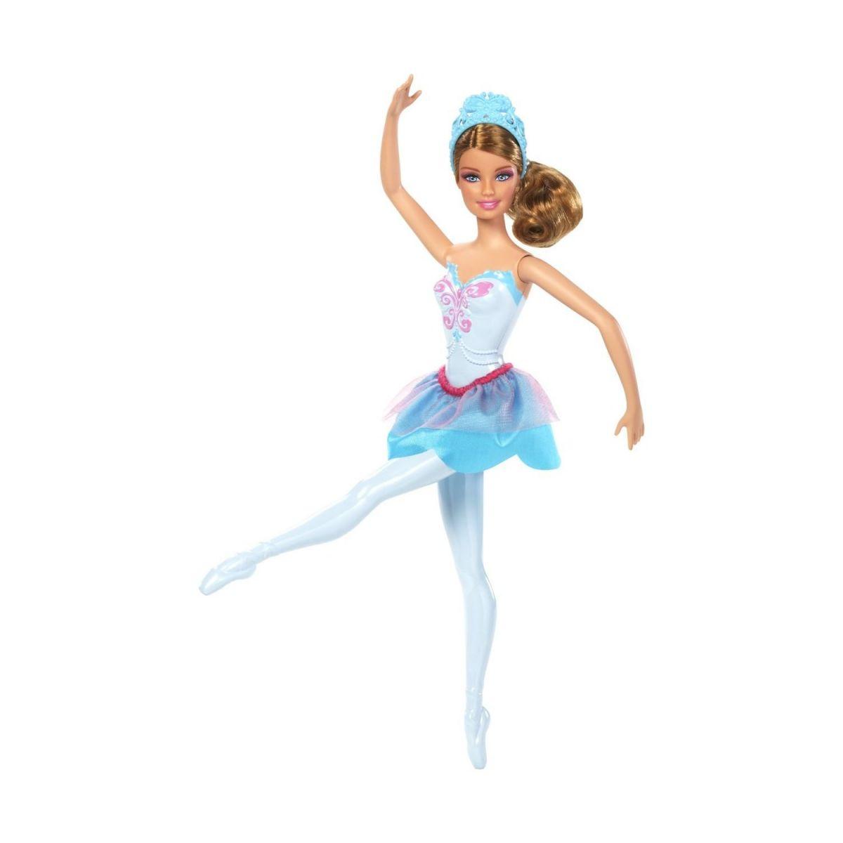 BARBIE X8821 Studentka baletka - Tyrkysová