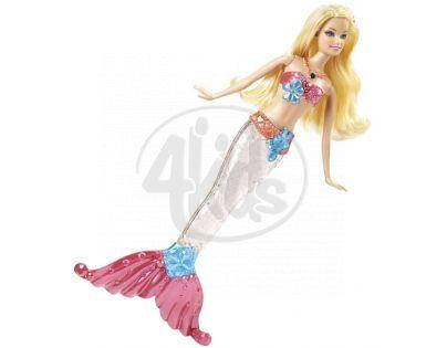 Barbie Svítící Mořská Panna - Blondýnka