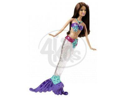 Barbie Svítící Mořská Panna - Brunetka