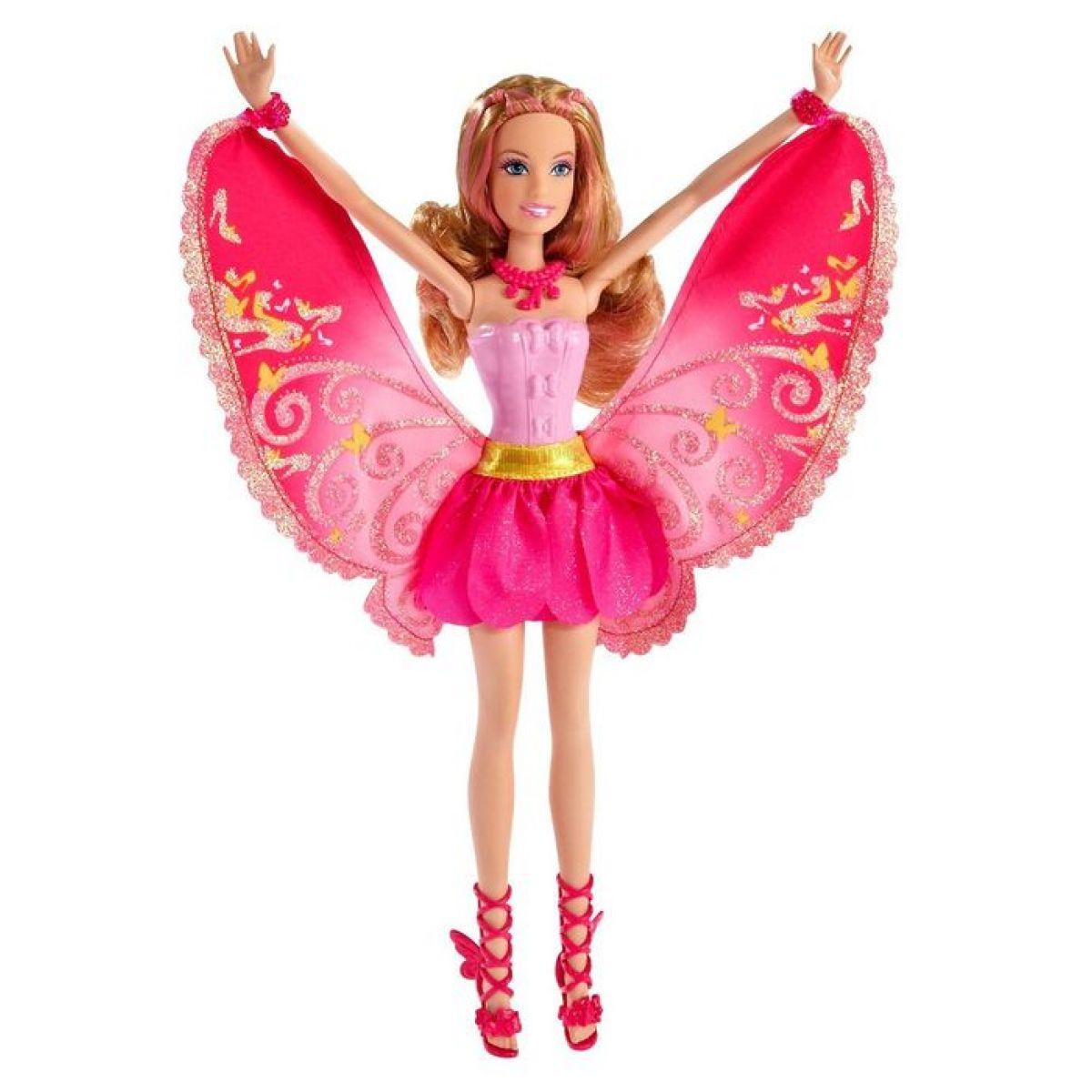 Barbie Barbie Víla kamarádka růžová