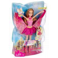 Barbie Barbie Víla kamarádka růžová 4