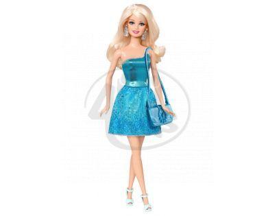Barbie Panenky v třpytivých šatech - Modrá BCN34