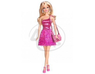 Barbie Panenky v třpytivých šatech - Růžová BCN35