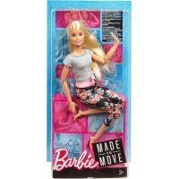 Barbie v pohybe ružová 5