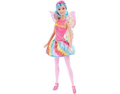 Barbie Víla s křídly - Modré vlasy