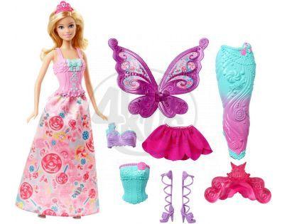 Barbie Víla a pohádkové oblečky 3v1
