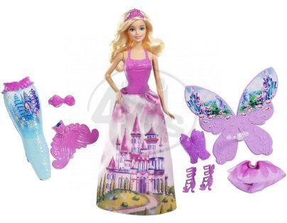 Barbie víla a pohádkové oblečky (Mattel CFF48)