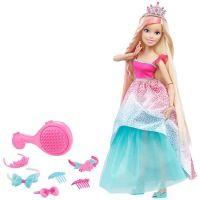 Mattel Barbie Vysoká princezna s dlouhými vlasy blond