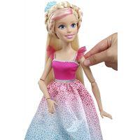 Mattel Barbie Vysoká princezna s dlouhými vlasy blond 3