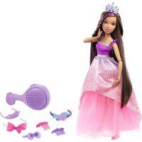 Barbie Vysoká princezna s dlouhými vlasy bruneta