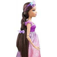 Barbie Vysoká princezna s dlouhými vlasy bruneta 4