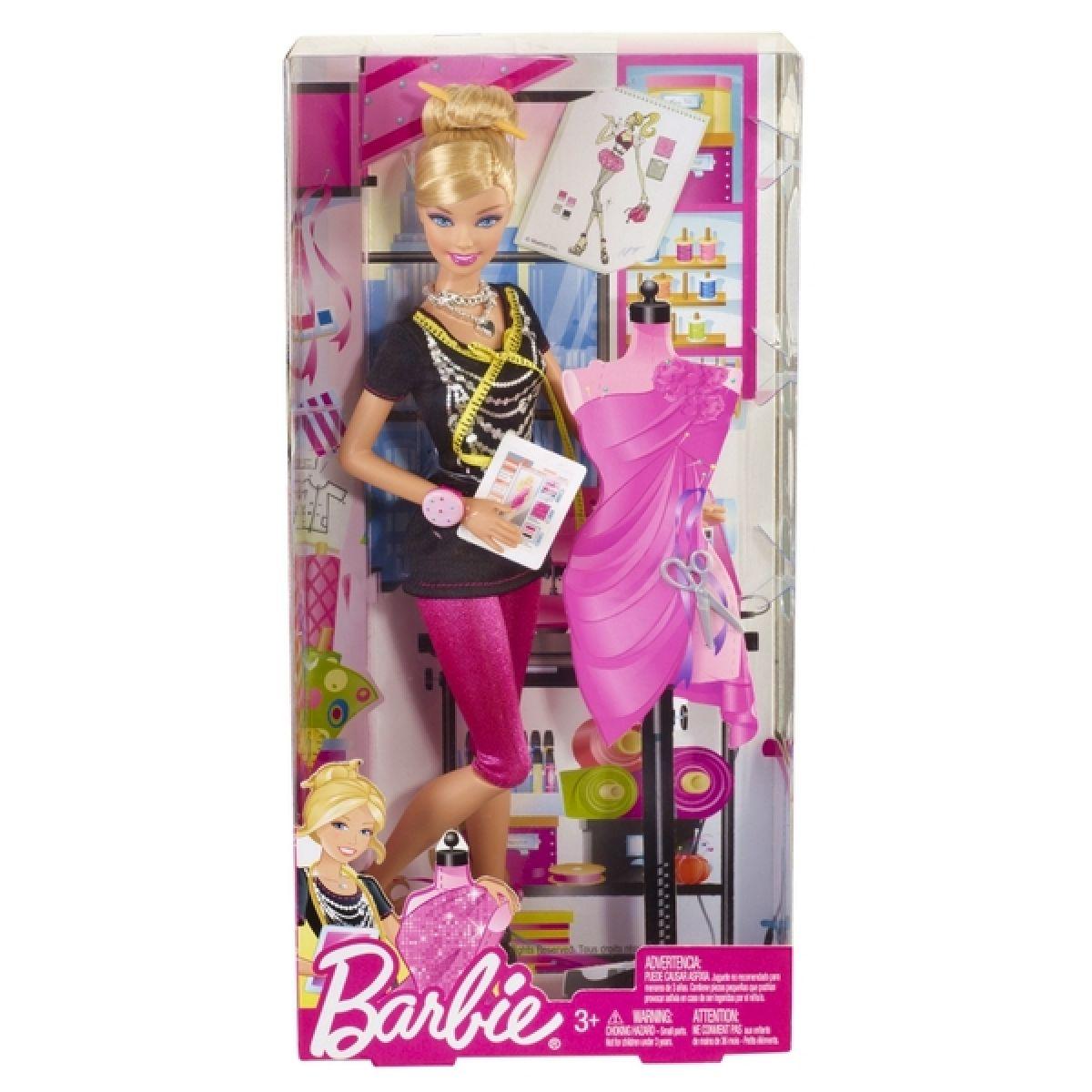BARBIE X2887 I Can Be návrhářka