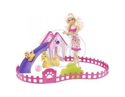 MATTEL Barbie a štěňátka - X6559