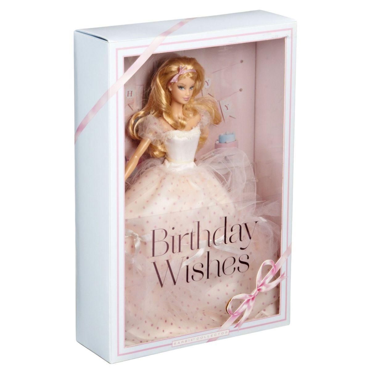 Barbie X9189 - Barbie sběratelská Narozeninová