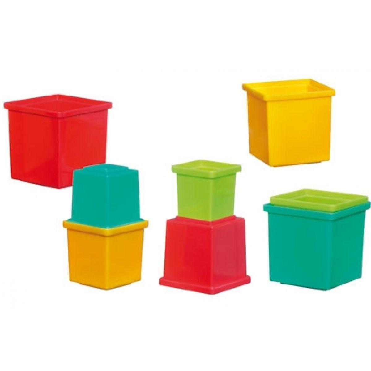 Hasbro 16810148 - Hrací set barevné kostky Playskool