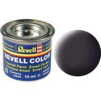 Barva Revell emailová 32106 matná dehtově černá tar mat