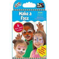 Barvy na obličej - Poškozený obal