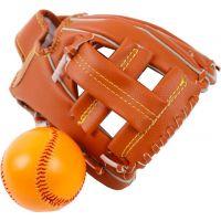 Baseballová rukavice s míčkem 17 x 21 cm