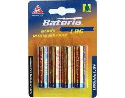 Bateria Slaný CZ Baterie Grada LR6/AA 1,5V 4ks