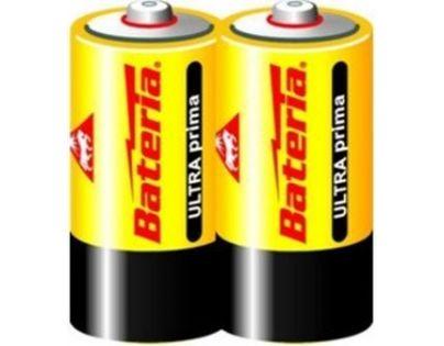 Bateria Slaný CZ Baterie Ultra Prima LR14/C 1,5V 2ks