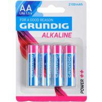 Baterie Grundig  LR6 AA 1,5 V Alkaline 4 ks